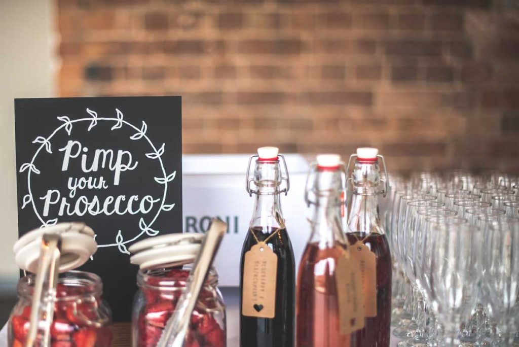 Wedding Reception Drinks Cocktails At Ashton Lodge Country House Venue